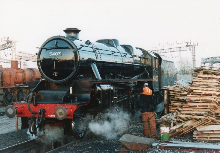 Photo of 5407 at Crewe Heritage Centre