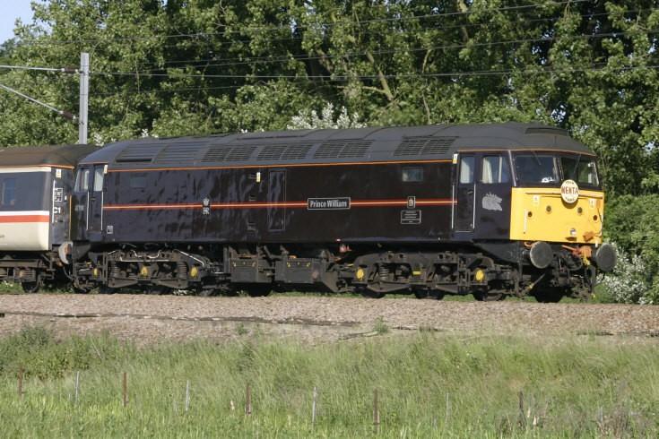 47798 Prince William on a Nenta Train Tour